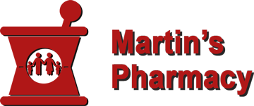 Martin's Pharmacy 203 Logo